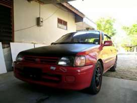 Toyota starlet merah 92 plat AB murah