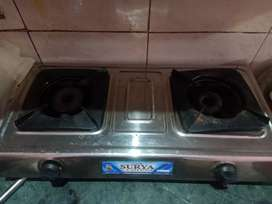 Stainless steel 2 burner stove for sell