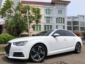 Audi A4 Quattro 2016 New Model White On Black Service Record 252Hp