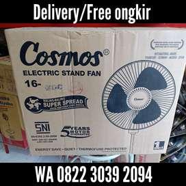 Kami antar-Kipas angin berdiri/Stand fan Cosmos 16-XDC 16inc 46watt