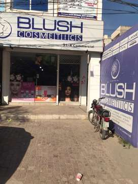 Running cosmetic outlet pak arab housing society