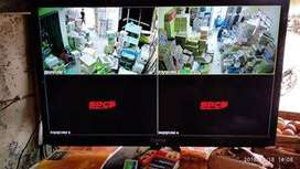 IP KAMERA CCTV WiRELESS PRAKTIS LANGSUNG ONLINE REKAM JELAS TAJAM