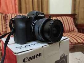 Di jual kamera mirorles eos m50 lengkap