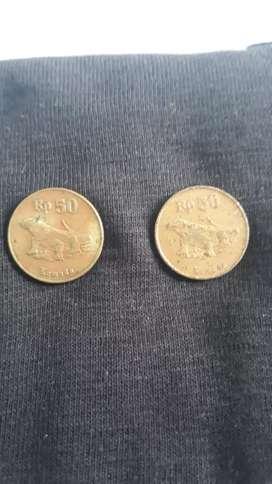 Uang koin 50 rupiah