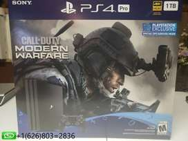 New Call Of Duty Playstation 4Pro 1TB