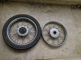 Yamaha rx spares and bullet