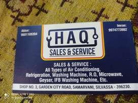 Haq repring center