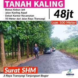 Jual Kavling Siap Bangun SHM Strategis Bonus Pohon Jati