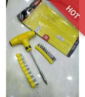 QK18_24 Pcs Bits Set Socket