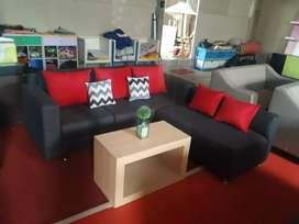 Sofa L desain modern, langsung pengrajin