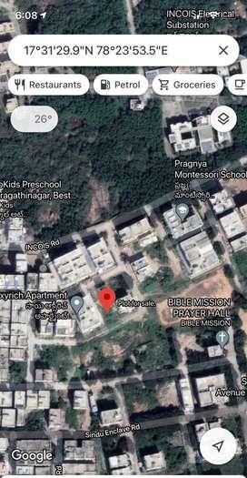 200 Sqrd plot at Pragati Nagar for sale