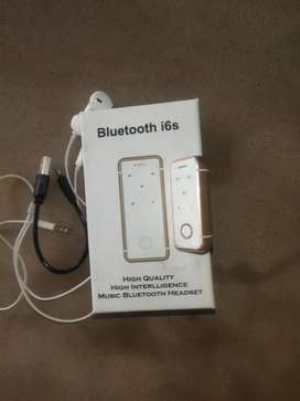 Bluetooth i6s with earphone