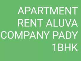 Apartment rent aluva company pady 1bhk