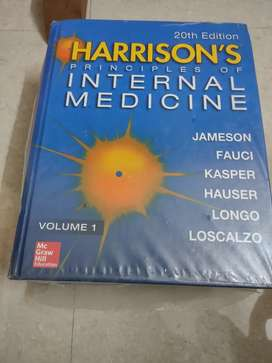 HARRISON'S PRINCIPLES OF INTERNAL MEDICINE 20th Edition
