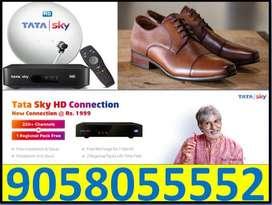 Tata Sky New Connection Ke Sath (Mrp-999) Shoes Free All india Cod TC}