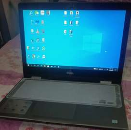 Dell Inspiron 13 - Touch Screen & Foldable, i5-7gen ,8 gb-256 gb ssd