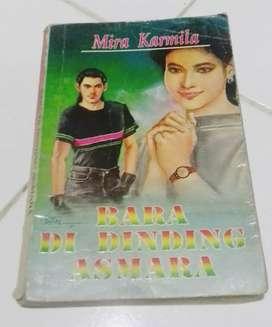 Buku novel lawas karya MIRA KARMILA koleksi langka lawas antik vintage
