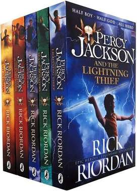 Percy Jackson Collection Available in Perfect Condition