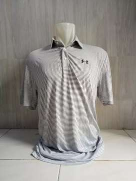 KAOS KERAH UNDER ARMOUR ORIGINAL Second