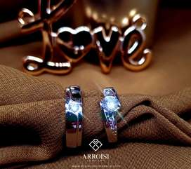 Cincin Kawin Jogja Cincin Tunangan Cincin Couple | ARROISI JEWELRY