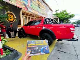 GRUDUK2 Mobil langsung STABIL Setelah pasang BALANCE Sport Damper Bos