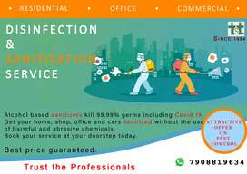 SANITIZATION SERVICE & PEST CONTROL