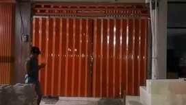 Harmonika toko folding gate