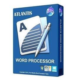 Atlantis Word Processor 4 Pro - Aplikasi Pembuat Karya Sastra Tulisan