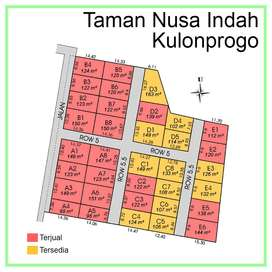 Promo 25% Tanah 1Jt-an/m SHM Pecah Unit Dkt Kota Wates