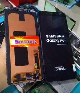 Ganti Lcd Touchscreen Samsung A6 Plus AA / Kontras + Pasang