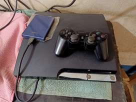 PS3 Slim 1500GB with 100+ games for sale