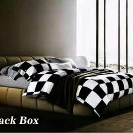 Bedcover Set motif black box FATA