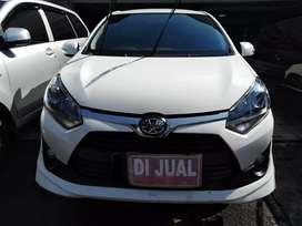 Toyota Agya 1.2 TRD sportivo AT th 2017 tdp minim km rendah