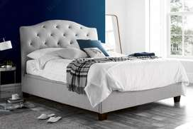 Modren Queen Size Tufted Bed By Furniture Studio.