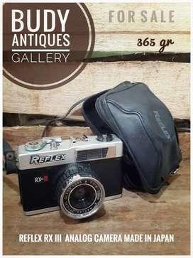 Vintage Reflex RX III Analog Camera Made In Japan
