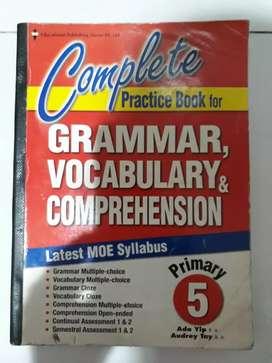 Buku Primary 5 Grammar,Vocabulary & Comprehension