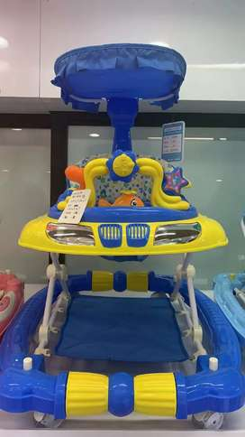 Kids Baby Walker 3 in 1 Comfortable Seat Rocking Moveable baby bouncer