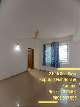 2 Bhk Sea View Flat Rent @Kannur Near : SN PARK