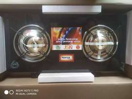 BRAND NEW TWO BURNER GLASS TOP LPG GAS STOVE AT BEST WHOLESALE PRICES