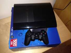 500GB+27 New Games Sony PS 3 Super Slim Modal Brand New Condition With