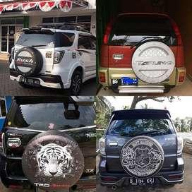 Cover/Sarung Ban serep gold CRV/Rush/Terios/Touring#RocketRaccoon  Mob