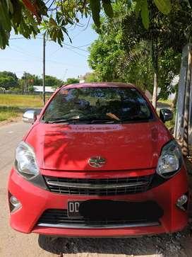 Jual Toyota Agya 1.0 G A/T thn 2015 warna Merah