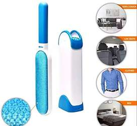 Pet Hair Remover Brush - Fur & Lint Removal Brush -Self-Cleaning Base