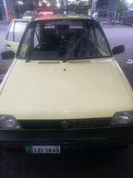 Mehran (yellow cab) 1992 model,