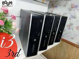 BRANDED HP - GEN  I3 3RD   | REPLACEMENT & WARRANTY  | 2GB GRAPHICS