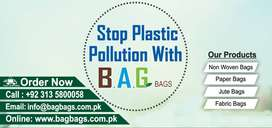 NON-WOVEN BAGS, BIODEGRADABLE AND GREEN