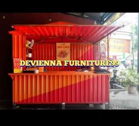 Booth Container dagang/booth Container/semi Container/container/booth