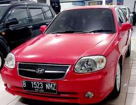 Hyundai Avega A/T 2007 Tdp 5jt km low antik sekali