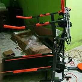 Treadmill Manual 7 fungsi fc8003 Alat Fitness