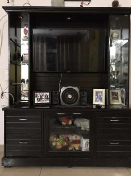 Big TV Cabinet cum Showcase